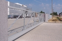 EXTRA LARGE CANTILEVER GATE (25-30 m long) with Thermally Sprayed Aluminium surface for the best corrosion protection; mail: redele@gmail.com